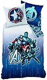 Avengers 043417 Bettwäsche Blue Code, Bauwolle Renforce, 140 x 200 Plus 70 x 90 cm