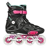Powerslide Inline Skates Kaiser One 80 schwarz Fluor Größe 42