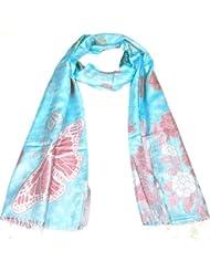 Lovarzi Damen-Schal - Luxuriösen Schmetterlingstuch für Damen und Mädchen