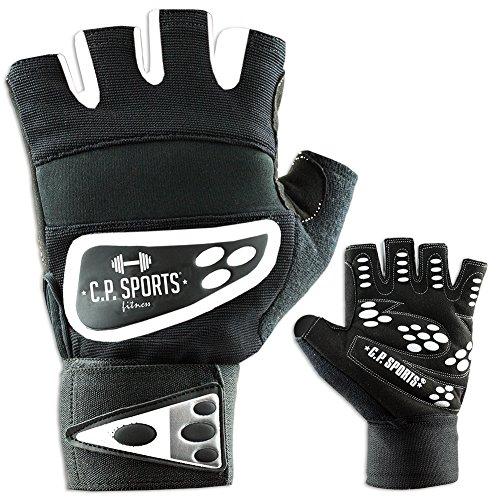 C.P. Sports Profi-Grip-Bandagen-Handschuh Fitness-Handschuh weiß xs