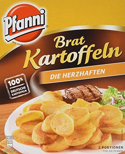 """Preisvergleich Produktbild Pfanni Kartoffelfertiggericht Bratkartoffeln """"Die Herzhaften"""" 2 Portionen,  5er Pack (5 x 400g)"""