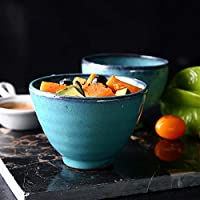 Cuenco de cerámica pequeño cuenco casero taza de té taza de postre creativo cuenco tazón de fuente