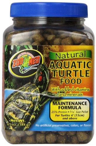 Zoo Med Natural Aquatic Turtle Food 184g, Futterpellets für Wasserschildkröten (Aquatic Natural Turtle Food)