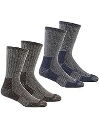 Calcetines gruesos para hombre, térmicos, para senderismo, trabajo, para botas, tallas 40-45, disponible en paquetes de diferentes…