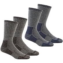 Calcetines gruesos para hombre, térmicos, para senderismo, trabajo, para botas, tallas