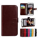 Funda® Flip Brieftasche Hülle für BLU VIVO 5 (Muster 8)