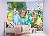 Walltastic 45354 Affiche Murale Princesse Disney, Papier, Multicolore, 52,5 x 7 x 18,5 cm
