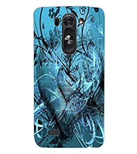 ColourCraft Beautiful Heart Design Back Case Cover for LG G3 S