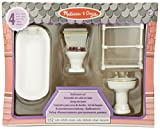 Melissa & Doug Classic Wooden Doll's House Bathroom - Best Reviews Guide