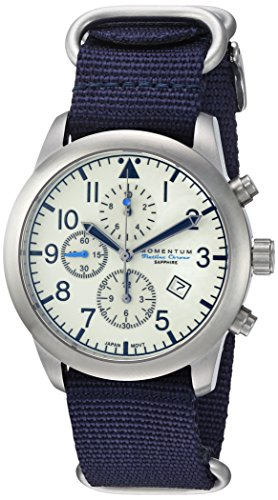 Momentum Men's Sports Watch | Analog Japanese-Quartz Nylon Strap 1M-SN34LS7U