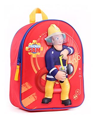 Feuerwehrmann Sam 3D Kinderrucksack Rucksack (7641)