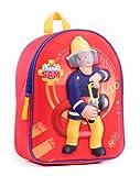 Feuerwehrmann Sam 3D Kinderrucksack Rucksack plus Sticker (7641)