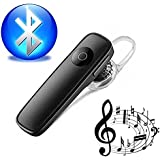 Captcha® MK-11 Wireless Bluetooth Stylish Headset with Music Support & Built-in Mic Facility for for Redmi Note 5 & One Plus 6 Mobile