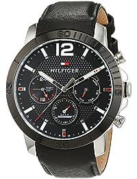 Tommy Hilfiger Herren-Armbanduhr Sophisticated Sport Analog Quarz Leder 1791268