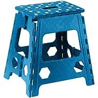 Superior Performance Klapptritt Hocker 38,1cm mit Rutschfeste Dots (Blau) preisvergleich bei kinderzimmerdekopreise.eu