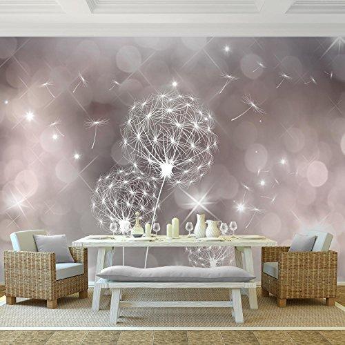 Fototapete Pusteblumen 352 x 250 cm Vlies Wand Tapete Wohnzimmer ...