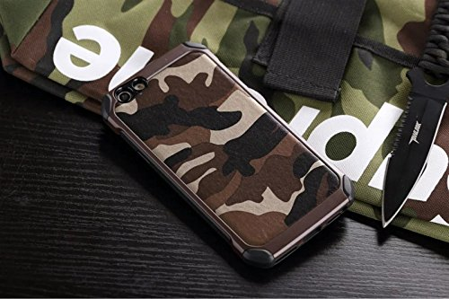 Excelsior Military Style Back Cover Case for Vivo V5   Brown