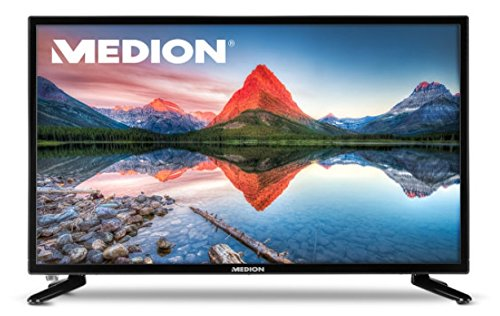 MEDION LIFE P14118 MD 21431 59,9 cm (23,6 Zoll Full HD) Fernseher LCD-TV mit LED-Backlight, Triple Tuner, DVB-T2 HD, HDMI, CI+, USB, Mediaplayer, integrierter DVD-Player, schwarz