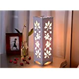 ASkyl Modern European style table lamp living room study bedroom bedside night light carved decorative square lamp energy saving