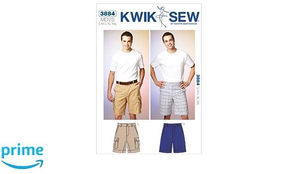Kwik Sew Mustern K3884 Gr. S – M – L – XL – XXL Shorts, Weiß, 1 ...