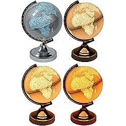 GLOBO terráqueo de lámpara con función de táctil Bombilla bola del mundo (mesa Globus erdkugel Mundo