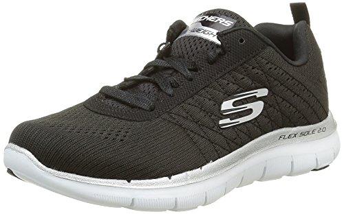 skechers-flex-appeal-20-break-free-zapatillas-de-deporte-para-mujer-negrobkw-noir-blanc-38