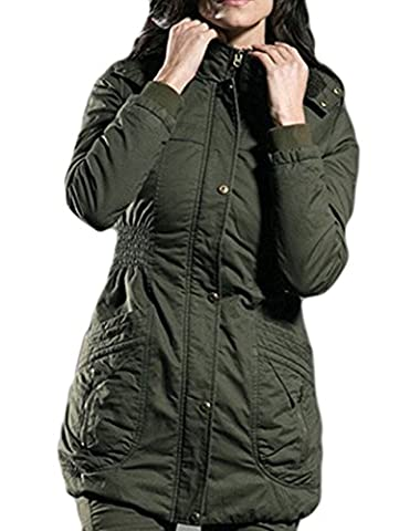 SaySure - Winter Jacket Thick Coats For Women Outwear (SIZE : XXXL)