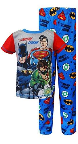 Liga-de-la-justicia-sentir-el-poder-Toddler-Set-de-pijama-para-nios