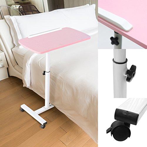 Kurtzy Laptop Study Table Adjustable Height Portable Foldable Detachable Space...