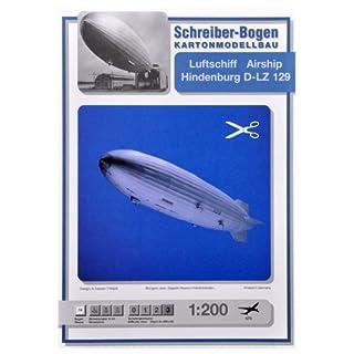 Aue-Verlag 124 x 22 x 23 cm Airship Hindenburg D-LZ 129