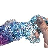Fluffy Slime,malloom Flacher Schlamm-Schlamm der Schlammschlamm Poke Paw-Schlamm-Schlittschuhschlamm 120ML der schöne Farbmischungs-Wolken-Schlamm Squishy-Kitt-duftender Druck scherzt Lehm-Spielzeug