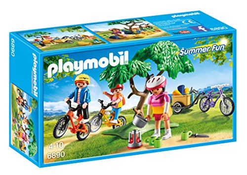 Playmobil Campamento de Verano Biking Trip Playset,, Miscelanea (6890)