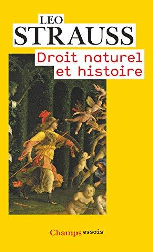 Droit naturel et histoire par Leo Strauss