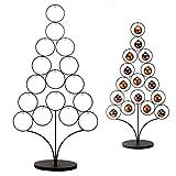 Roomando Metallständer Metallbaum Weihnachtsbaum Baum Ständer für Baumkugeln Höhe 1,50 m