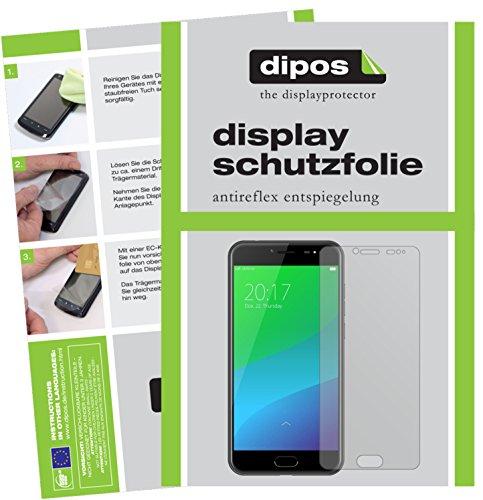 dipos I 2X Schutzfolie matt passend für Ulefone Gemini Pro Folie Bildschirmschutzfolie