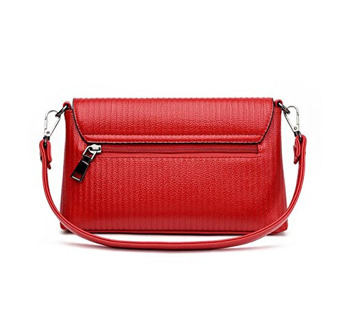 Atmosphere Einfache Mode Schultertasche Messenger Bag Handtaschen Lässig Wild Elegant Grey