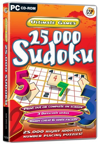 Ultimate Games - 25000 Sudoku [UK Import]