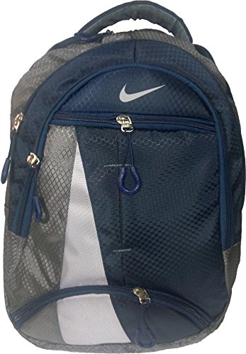 Nike Dark Blue & Grey Backpack, Bag, For School, Office and Laptop Backpack Bag (Water Resistant)  available at amazon for Rs.799