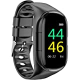 docooler Smartwatch 2 in 1 con Auricolari TWS Fitness Tracker Cuffie Wireless Reali Step Calorie Counter Activity…