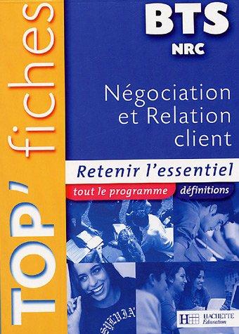 Négociation et Relation Client BTS NRC