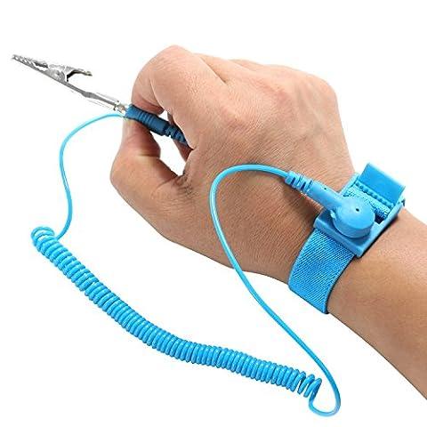Bracelet Antistatique - TRIXES Bracelet anti-statique Sangle/Bande de Décharge