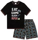 The Pyjama Factory Pigiama due pezzi - ragazzo Nero 13-14 Anni