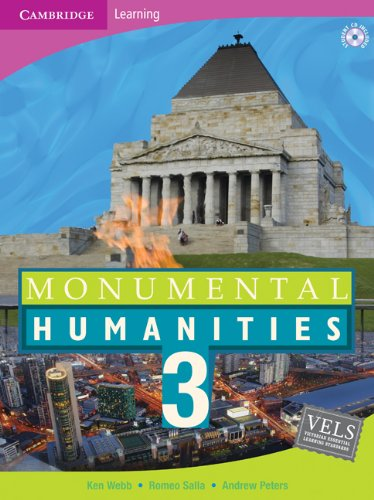 Monumental Humanities 3 with CD-ROM: No. 3