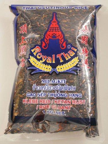 Royal Thai - Riz Gluant Noirthai 1Kg