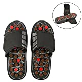 Zapatos de masaje Masajeador de pies Zapatos de masaje con 41 TAi CHI Puntos de masaje Reflexología de los pies Accupressure para el cuidado de los pies Relajación para hombres y mujeres(40-41-Tai Chi Diagramme)