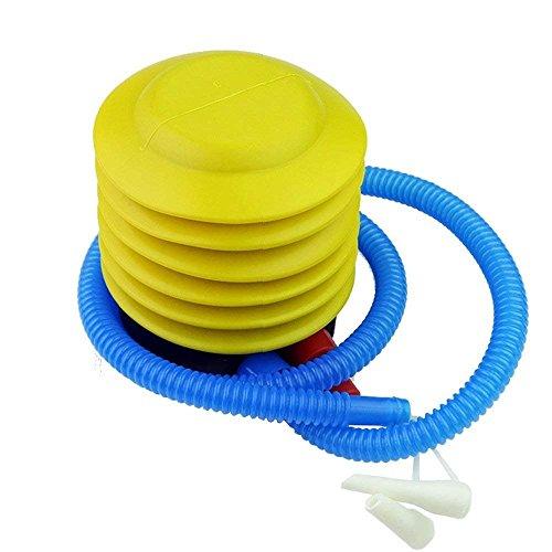 Kansasty Fuß Pumpe aufblasbar Air Fuß Pumpe Tragbare Fuß Luftpumpe Luftpumpe für aufblasbare Spielzeug Ballon, Life Ring, Schwimmen Arme, Floß, aufblasbares Bett, Pool, Etc.