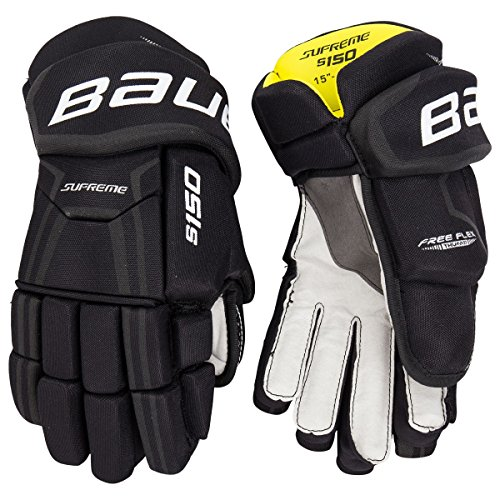 Bauer Supreme S17S150Ice Hockey Player Handschuhe Senior, Herren, schwarz