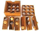 Golf Puzzle - 3D Puzzle - Denkspiel - Knobelspiel - Geduldspiel - Logikspiel aus Holz