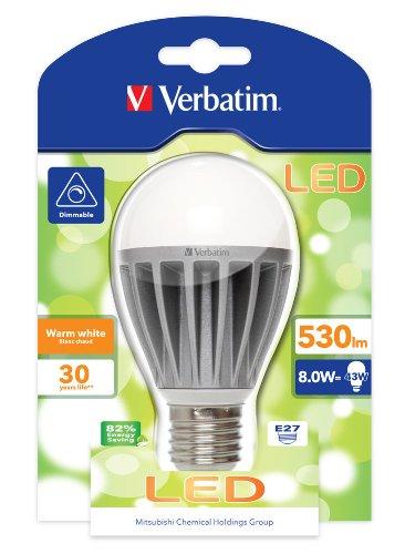 LED VERBATIM CLASSIC A E27 10W 2700K WW 730LM DIM