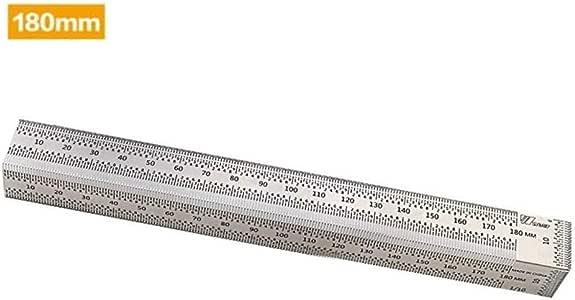 R/ègle de marquage en alliage daluminium outil de pr/écision pour le travail du bois